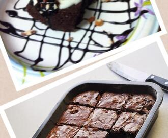 Eggless Chocolate Brownies Recipe ......:) :)
