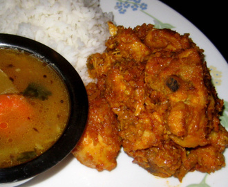 CHICKEN FRY  (cooked and fried in Onion and Kaju paste)