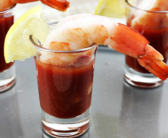 Easy Shrimp Cocktail Appetizer Recipe