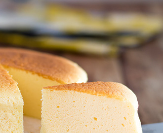 Japanese Cotton Cheese Cake: Light, soft and easy!