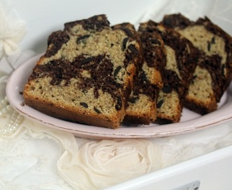 Chocolate-Swirled Peanut Butter Banana Bread