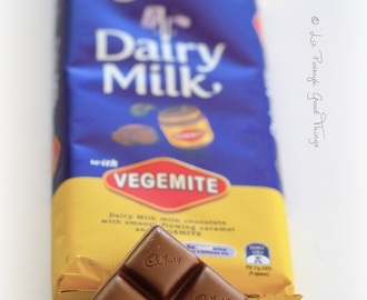 On chocolate with vegemite - a good thing or not?