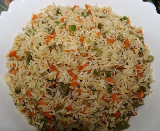 Chinese Veg Fried Rice.
