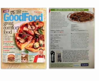 RAILWAY LAMB / MUTTON CURRY - BBC GOOD FOOD MAGAZINE JULY 2012