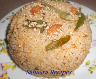 Sesame Seeds Rice