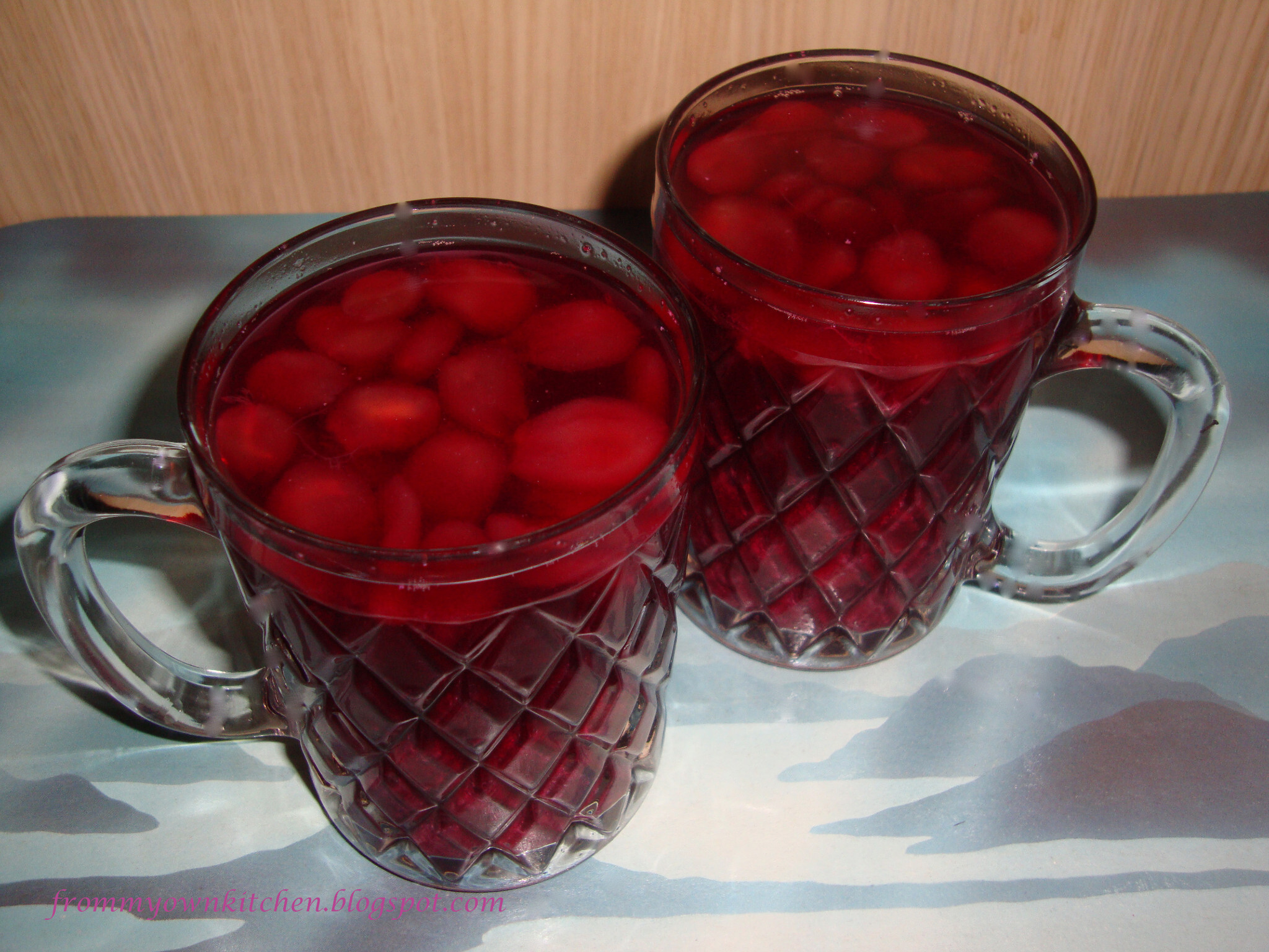 Grapes Juice Along With Its Pulp