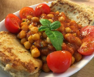 Curry de pois chiches (Vegan & sans gluten)