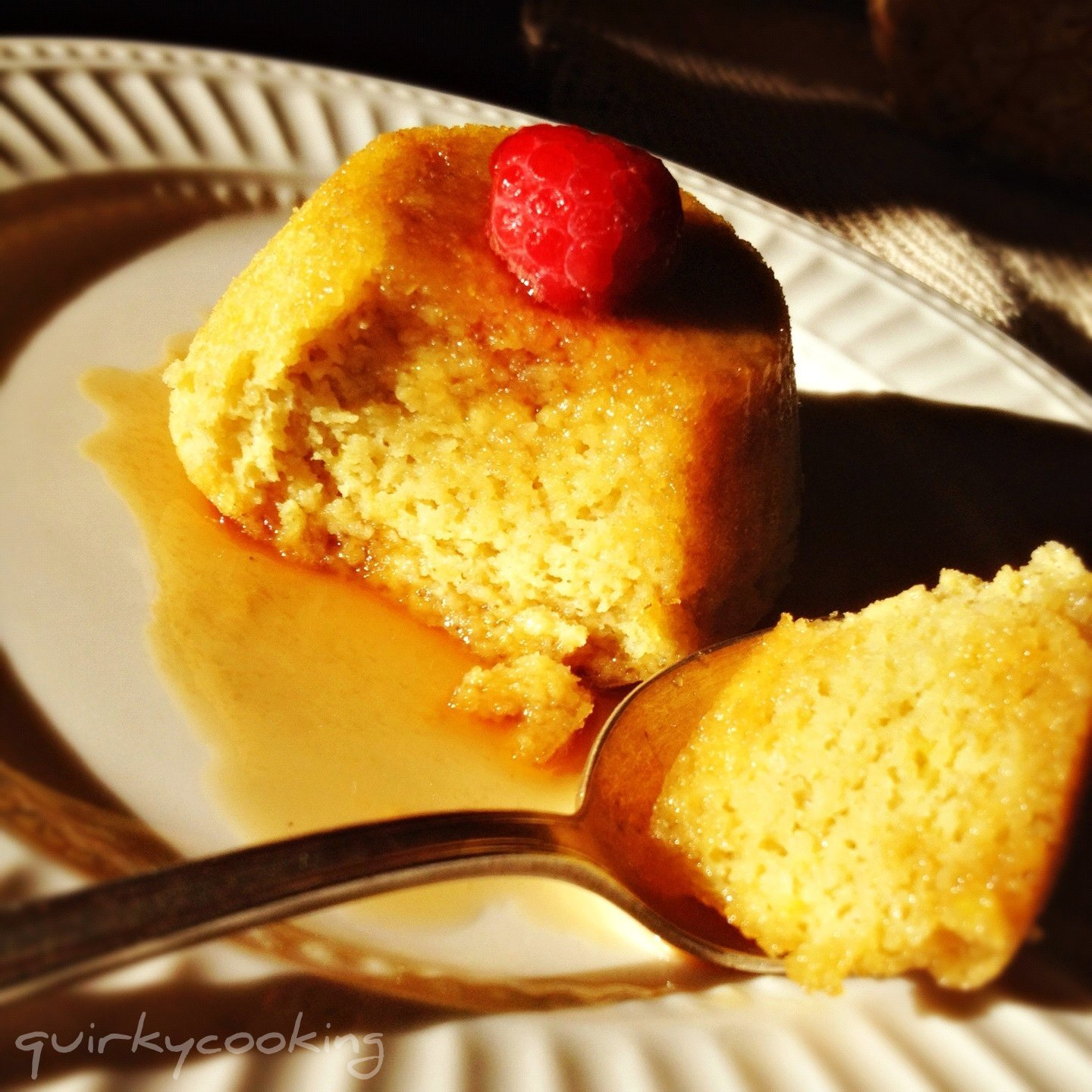 Almond, Lemon & Coconut Steamed Puddings {grain free, dairy free}