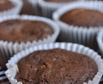 Chocolate cheese cake muffins