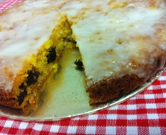 Pumpkin Pineapple and Prune Cake