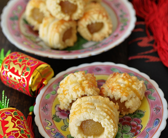 MY Best Ultimate Melt-in-your-mouth Nastar Pineapple Rolls / Tarts 凤梨酥