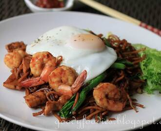 Recipe: Mee goreng with fried egg
