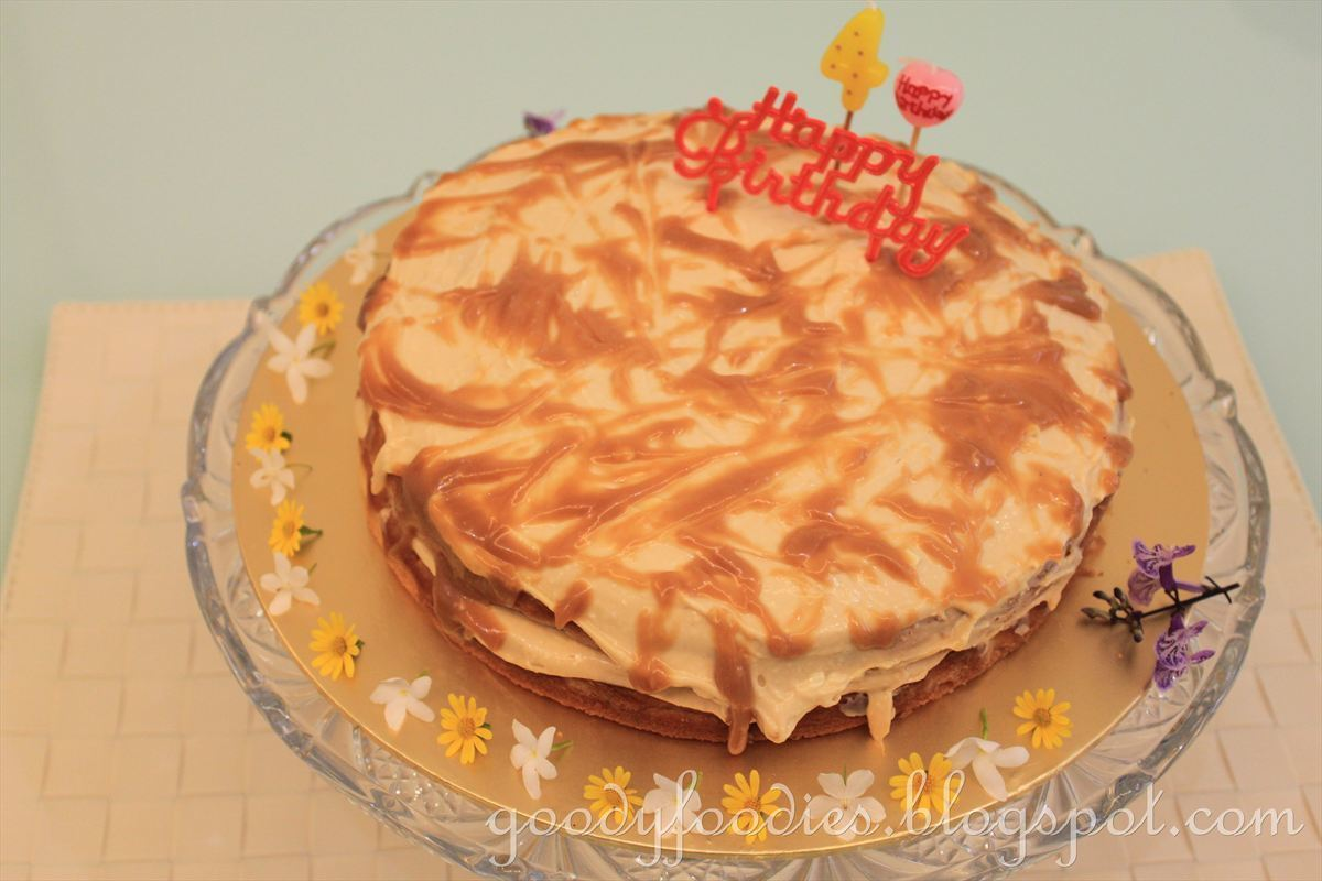 Recipe: Butterscotch Layer Cake (Nigella Lawson)