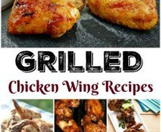 Grilled Chicken Wing Recipes