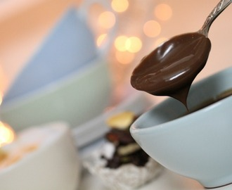 Chocolate Pots de Crème & Simple sjokolade snacks ♥