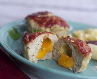 Cheese Stuffed Mini Meatloaves That Will Make Your Kids Want More