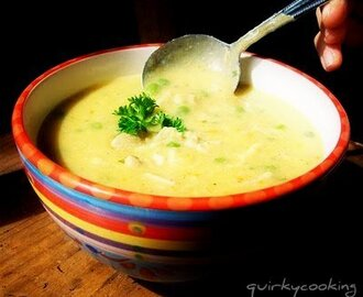 Creamy Chicken & Brown Rice Soup