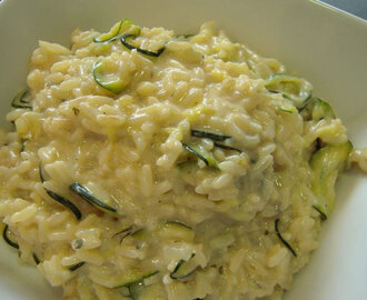 Risotto léger aux courgettes weight watchers