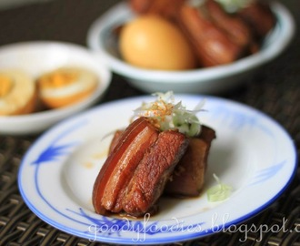Recipe: Buta no Kakuni (Japanese braised pork belly)