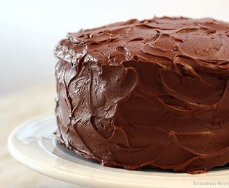 sugar free chocolate cake recipe