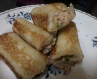 Bread Paneer Roll - Kid's Special
