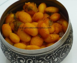 Vaal Bean Curry (Field bean Curry)