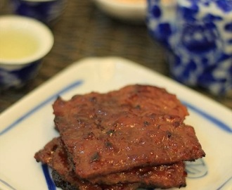 Recipe: Bak Kwa (Homemade Chinese Pork Jerky) 肉干