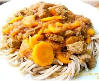 Sweet n Sour Beef with Noodles