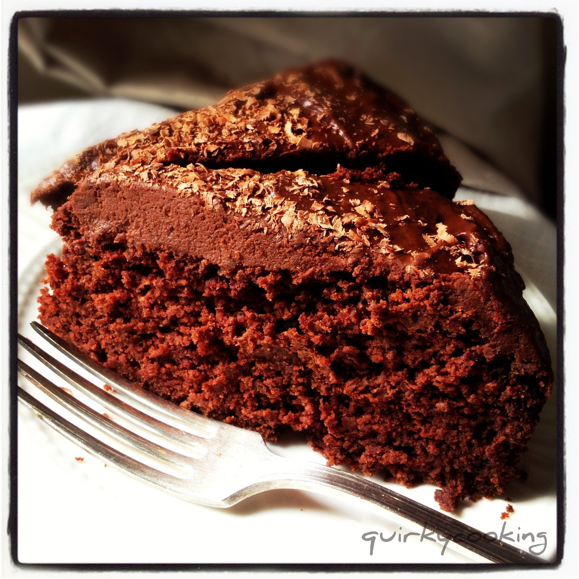 GF Chocolate Banana Cake