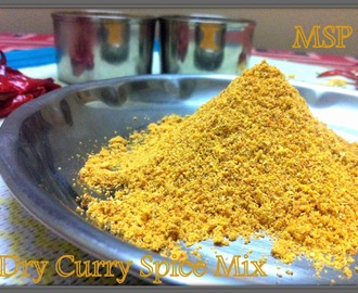 Curry Powder / Dry curry spice mix
