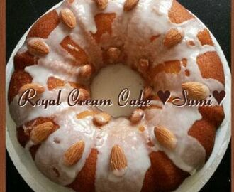 Royal Cream Cake