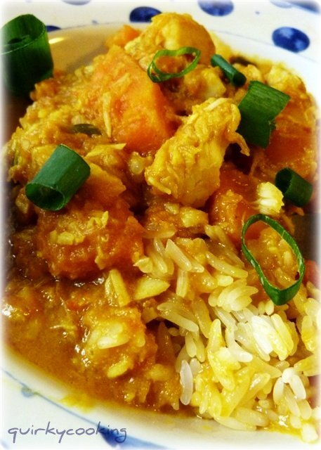 Vietnamese Fish Curry with Sticky Rice