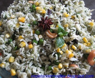 Mint Methi Rice