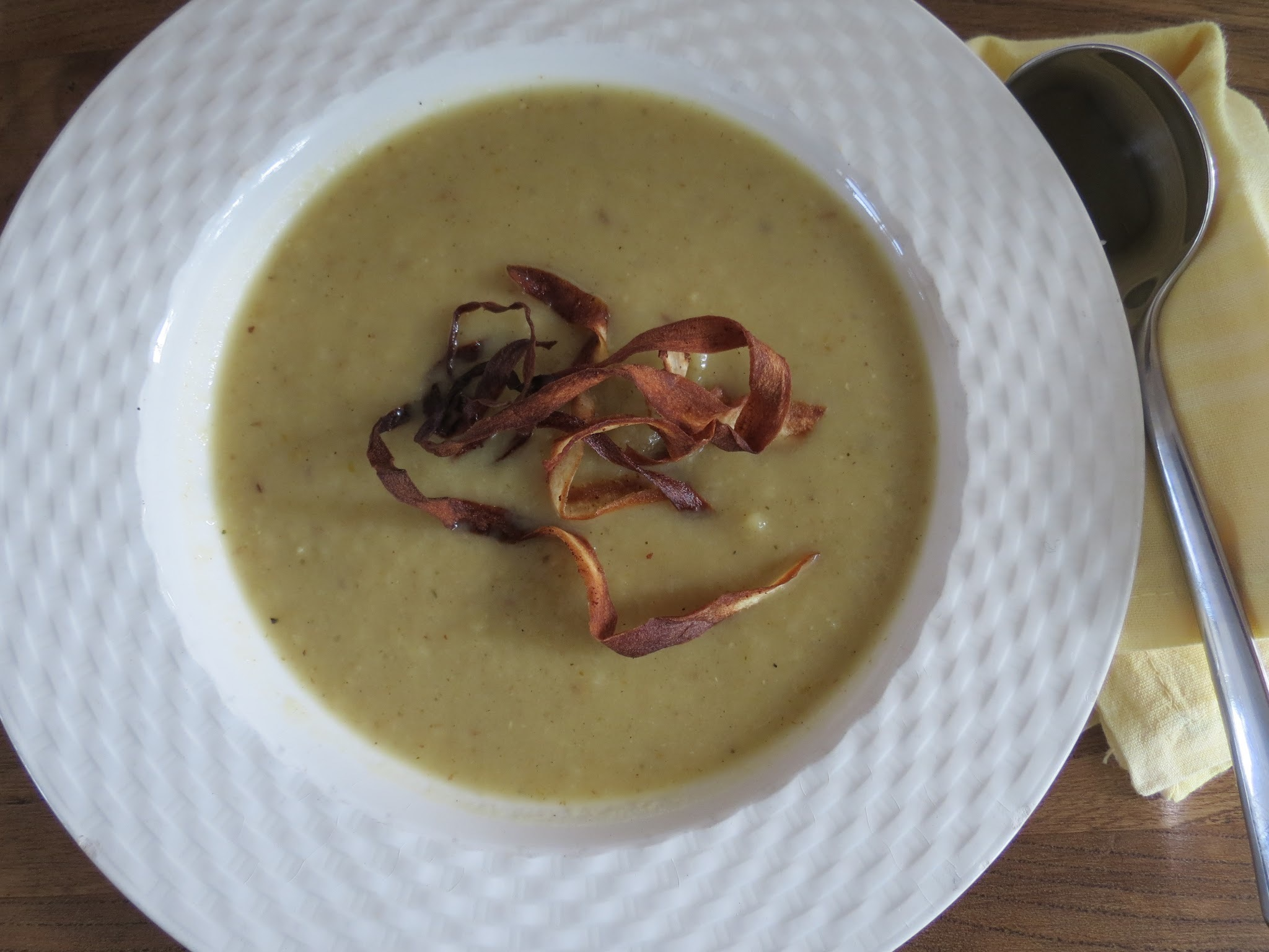 Spiced Roast Parsnip & Kumara Soup