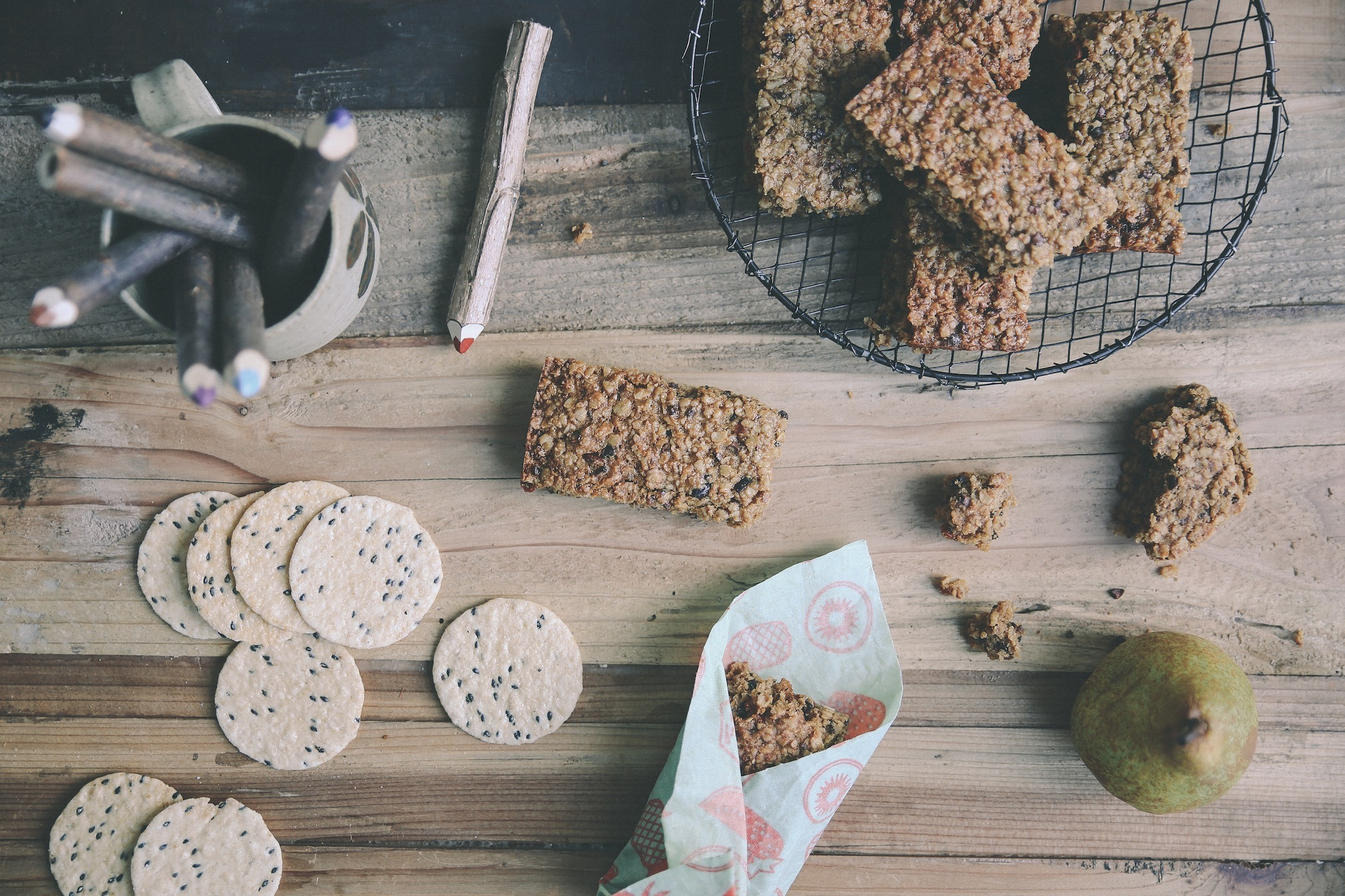 LIGHT & CHEWY MUESLI BARS