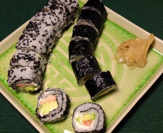 Comentario en Sushi, receta de Maki y California rolls por coupons for sears