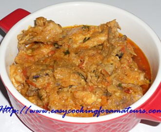 Spicy Yogurt Chicken Masala