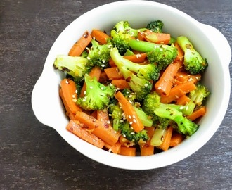Broccoli and Carrot Stir Fry
