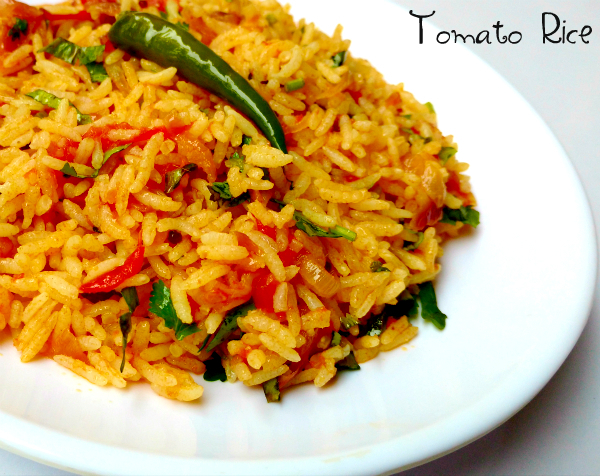 Tomato Rice Recipe | Thakkali Sadam