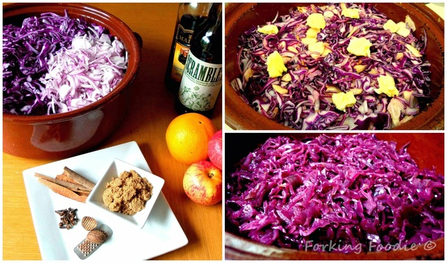 Spiced Braised Red Cabbage (includes Thermomix method)