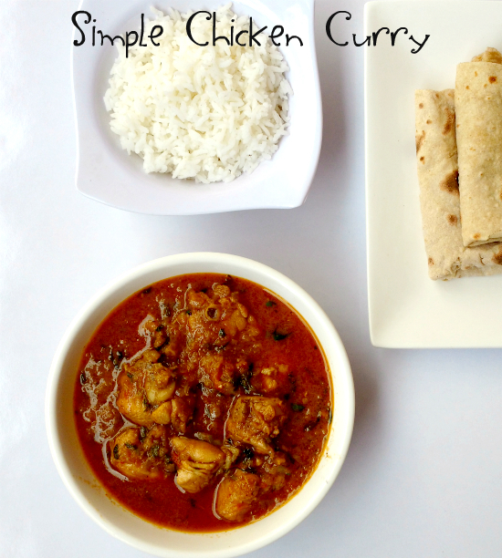 Easy Chicken Curry Recipe