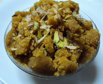 Chana Daal Halwa ( The SNC Challenge - Mar 2013)