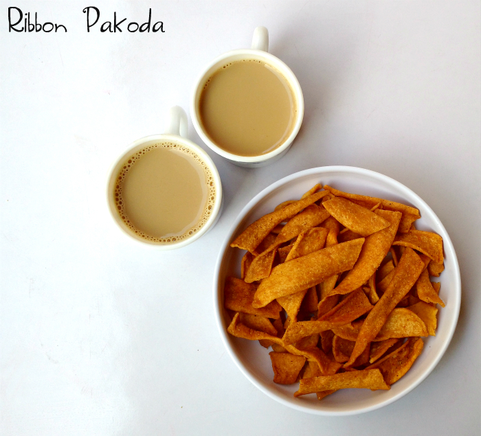 Ribbon Pakoda Recipe | Easy Diwali Snacks
