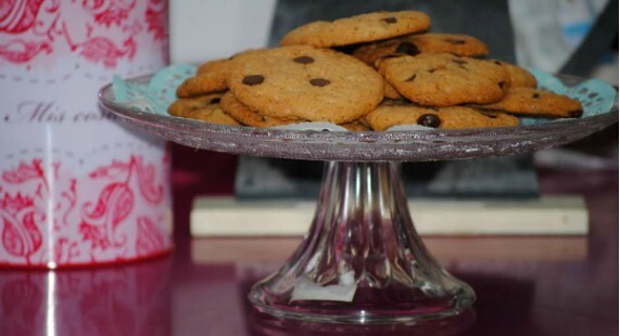 Galletas caseras con chips de chocolate