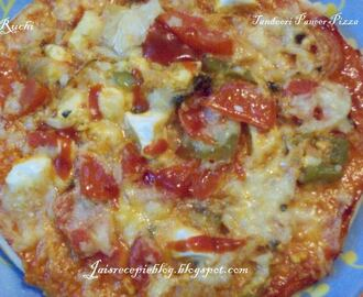 Tandoori Paneer Pizza & IceCream