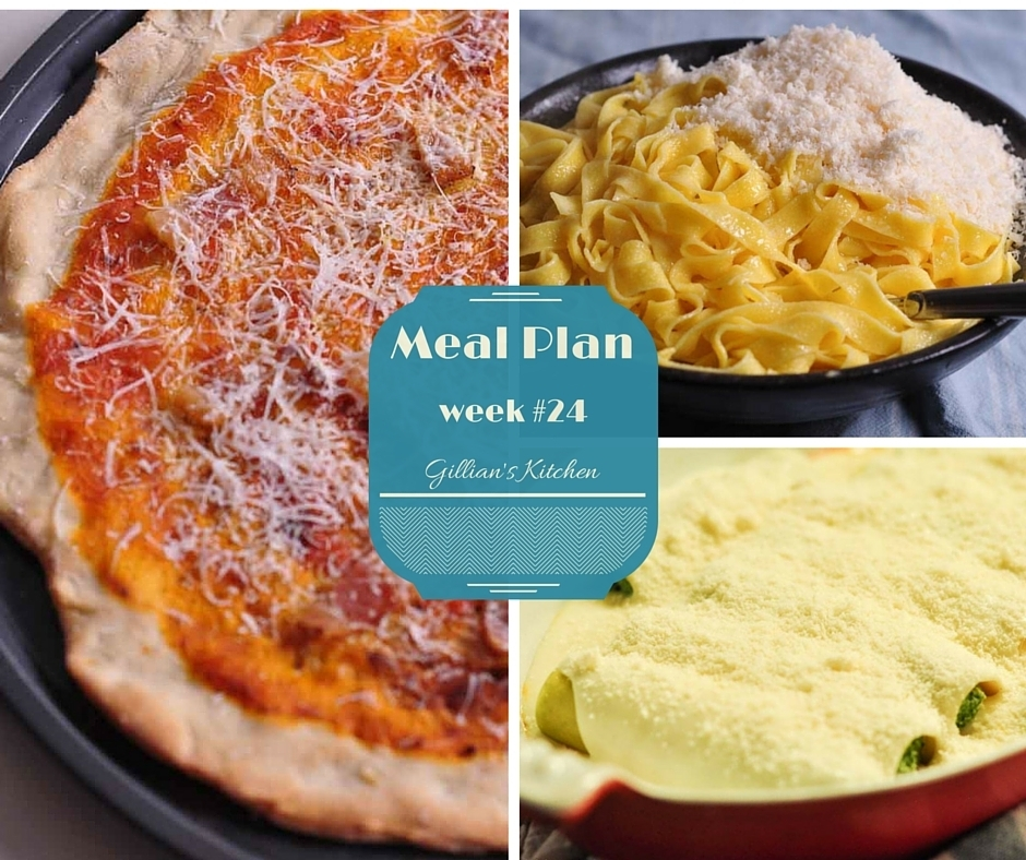 Weekly Meal Plan (Week 24)