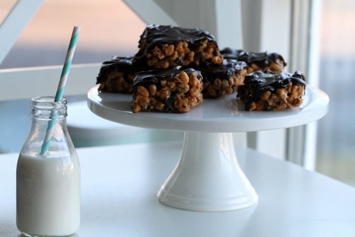 Caramel & Peanut Butter Crunch Candybar & with oreo cookies