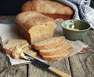 Wholemeal Bread with Rye and Wheat Germ