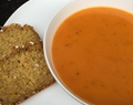 Roasted Squash and Tomato Soup –  Gluten Free & Dairy Free