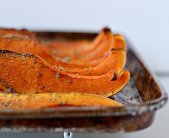 Spicy Roasted Butternut Pumpkin